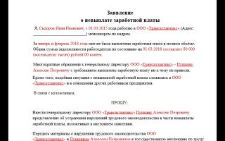 Заявление в прокуратуру о невыплате заработной платы. образец и бланк для скачивания 2020 года