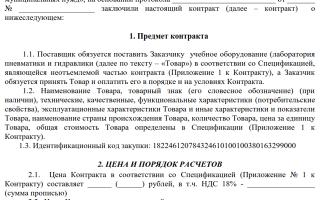 Договор авторского заказа. образец заполнения и бланк 2020 года