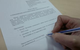 Ходатайство о приобщении документов к материалам дела. образец и бланк 2020 года