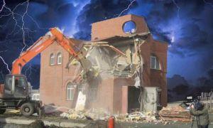 Какая ответственность предусмотрена за незаконное строительство жилого дома?