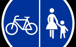 Требования к движению велосипедистов и водителей мопедов