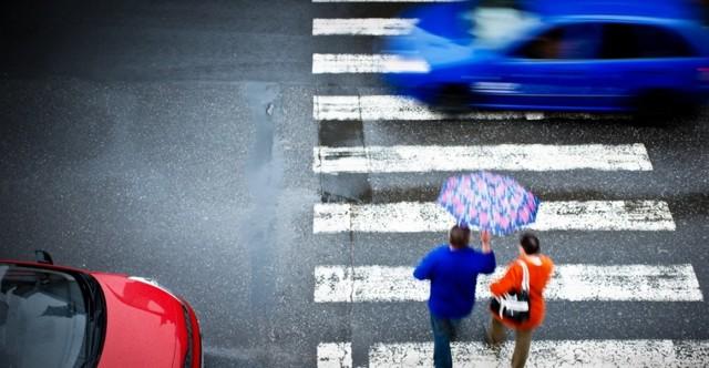 Ответственность водителя за непропуск пешехода на переходе