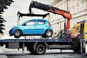 Действия при перемещении автомобиля на штрафстоянку