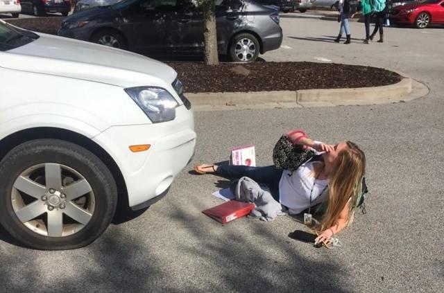 Действия водителя при наезде на пешехода