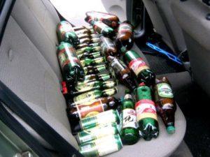 Наказания за распитие алкоголя в припаркованном автомобиле