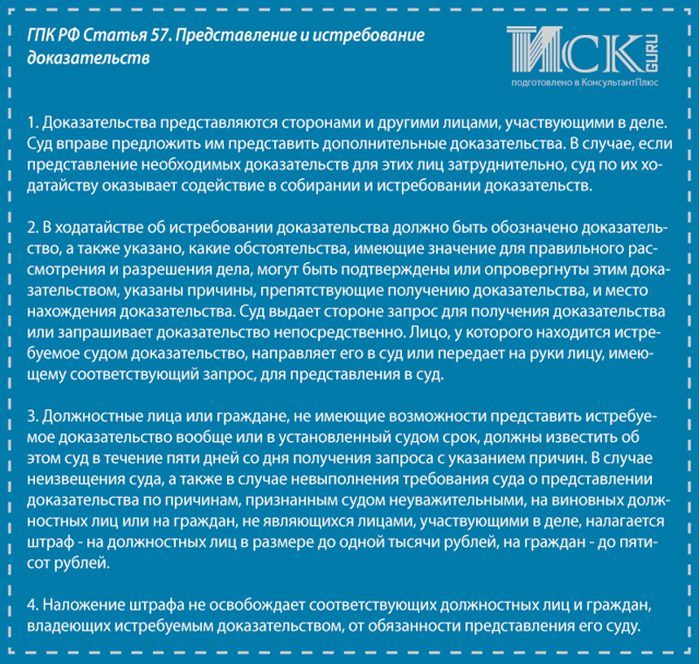 Ходатайство об истребовании доказательств по гражданскому делу. Образец и бланк 2020 года