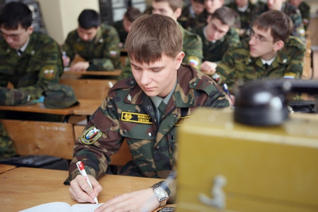 Как поступить в военный вуз?