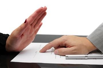 Письмо на расторжение договора. Образец заполнения и бланк 2020 года