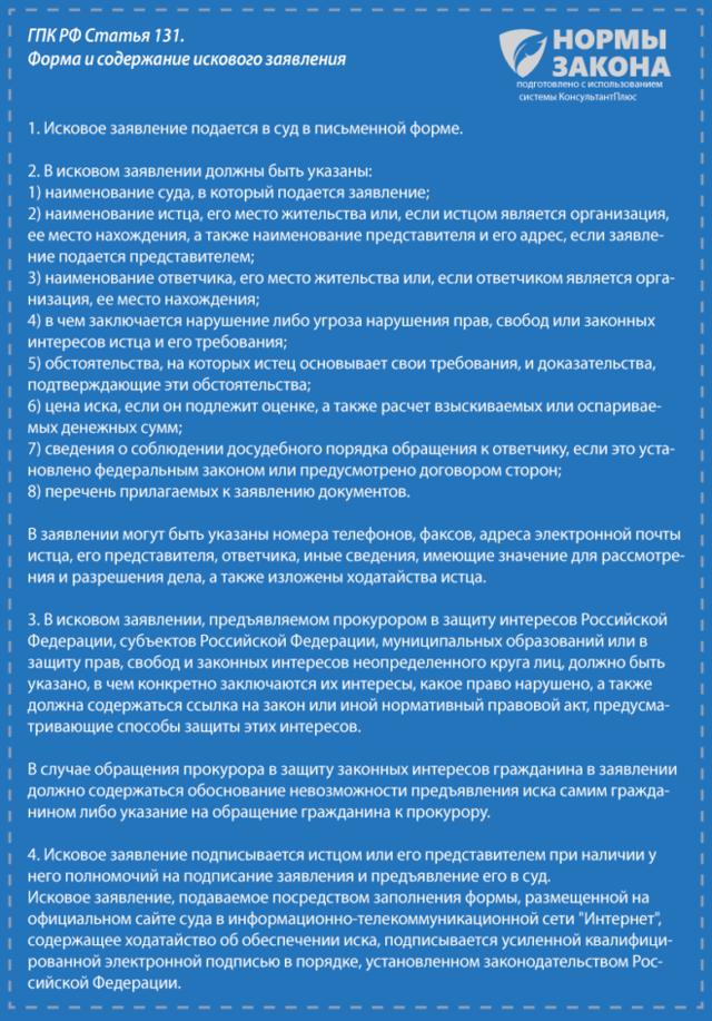 Уточненное исковое заявление. Образец заполнения и бланк 2020 года
