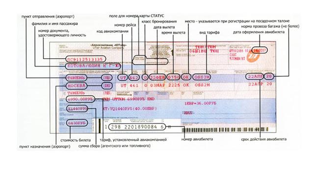 Допускаются ли ошибки в электронных билетах