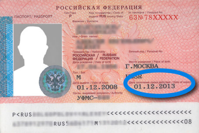 Оформление и срок действия загранпаспорта