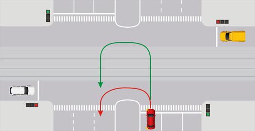 Ответственность за проезд по полосе встречного движения