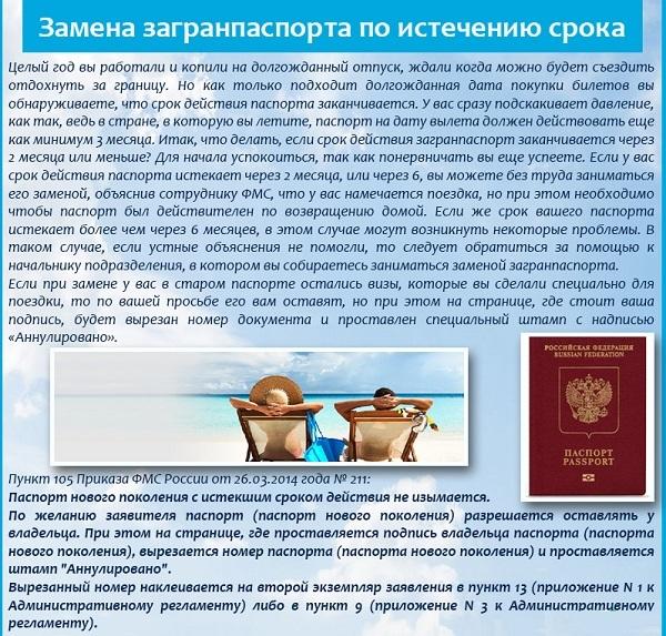 Каков действия загранпаспорта зависит ли от него срок получения визы