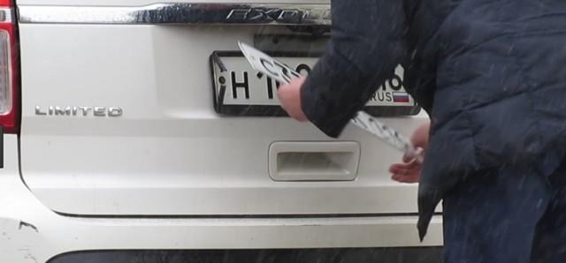 Ответственность за неидентифицируемые номерные знаки?