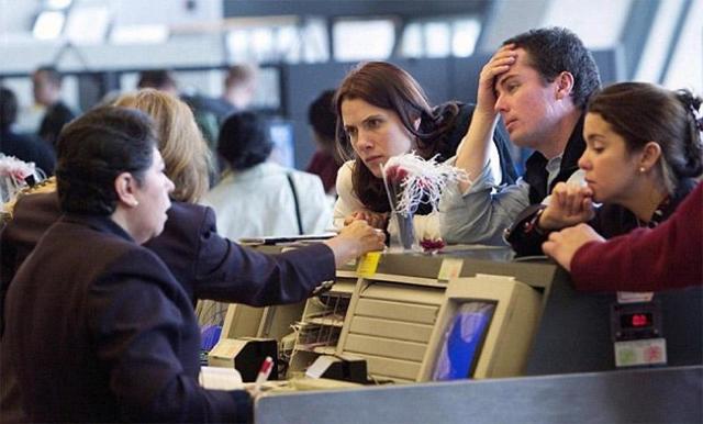 Действия пассажира при задержке рейса