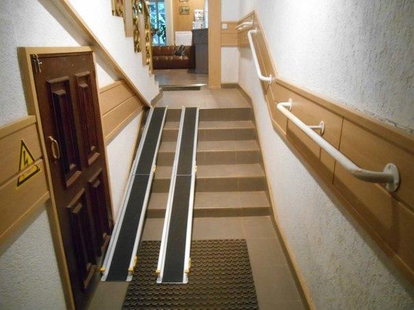 Как установить пандус в жилом доме?