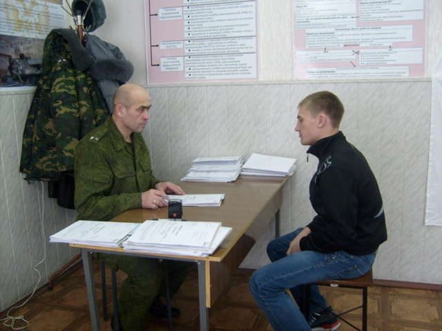 Подтверждение постановки на воинский учет